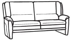 Himolla Tangram Sofa 9851 62 X
