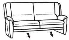 Himolla Tangram Sofa 9851 82 X
