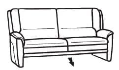 Himolla Tangram Sofa 9851 85 X