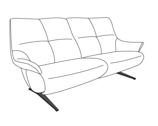Himolla Easy Comfort 4600 fester Sitz Varianten