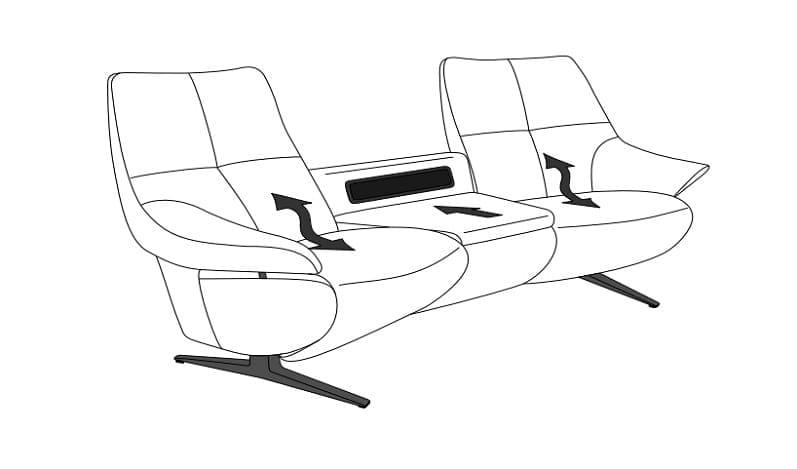 Himolla Easy Comfort 4603 elektrische Varianten