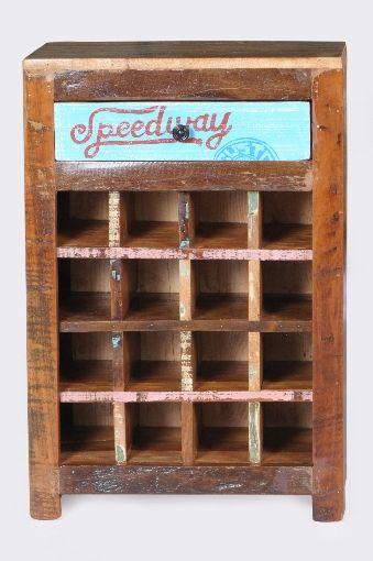 Sit Speedway Weinregal