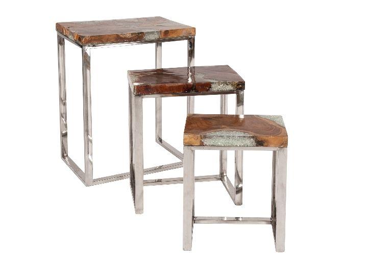 Sit Romanteaka 3-Satz-Tisch