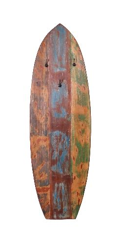Sit Riverboat Surfboard-Garderobenpaneel