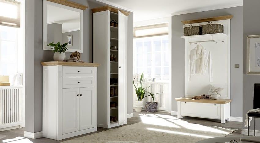 Wehrsdorfer Maisonette Garderobe